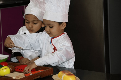 Kids Cooking Skilled